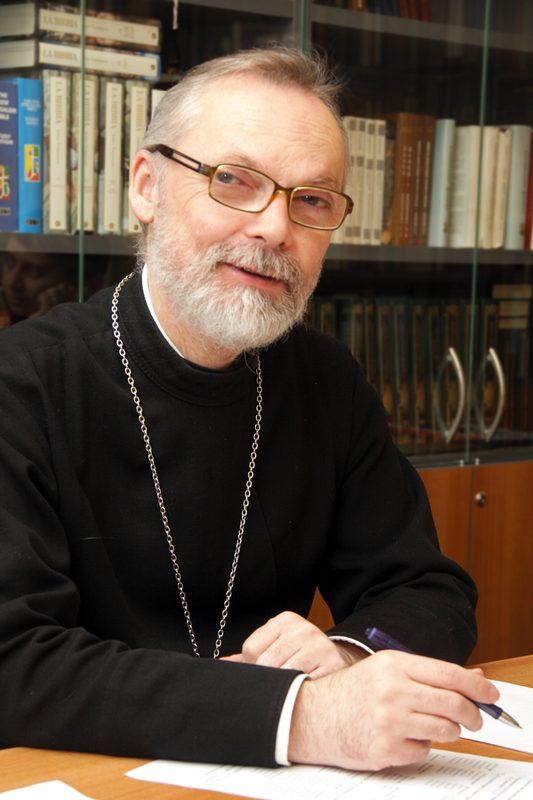 The Reverend Professor Georgy Kochetkov, Rector